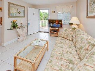 Waves 16 - 2nd Floor Condo overlooking Courtyard/Pool!  BBQ, Free Wifi w W/D! - Saint Pete Beach vacation rentals
