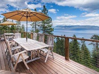 5BR/4BA Cabin with 180 Degree Lake Views - Tahoma vacation rentals