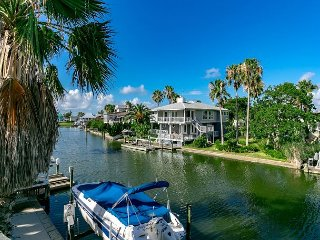 Key Allegro Canal House with Outstanding Bay Views, Upper and Lower Decks - Rockport vacation rentals