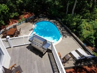 Waterfront Home with Heated Pool and Dock - Mashpee vacation rentals
