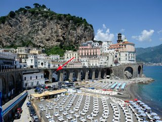 L'arco sul mare with SEA VIEW 800mt to amalfi - Atrani vacation rentals