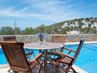 Modern 4 bed house with sea views and private pool - Cala Carbo vacation rentals