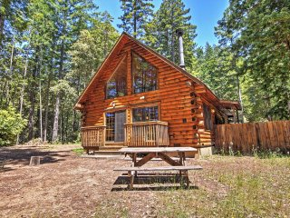 Cozy 3BR Log House in Sonoma County on 1.58 Private Acres w/Wifi & Home Gym - Surrounded by Beautiful Redwoods & Close to the Ocean! - Jenner vacation rentals