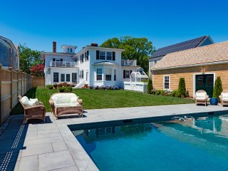 CARLP - Distinctive Luxury All New For Summer 2016, Heated Pool 16 x 32,  Village Center 3 Minute Walk to Main St. - Chappaquiddick vacation rentals