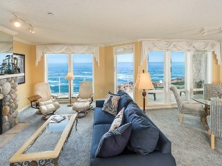 3 Bd End Unit - Oceanfront Luxury - Spring Special - Depoe Bay vacation rentals