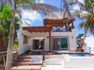 Cozy House with A/C and Balcony - Telchac Puerto vacation rentals