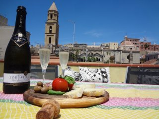 Historic Central Apartment, Amazing Terrace - Cagliari vacation rentals