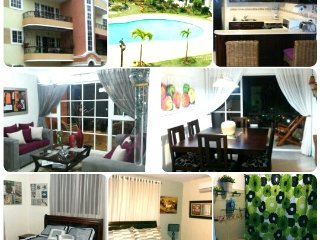 Resort Style Apt 3bd w/ free wifi & Cable - Santiago vacation rentals