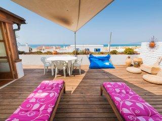 Gran apt 3 dormitorio,terraza vista mar,Wifi, lujo - Tarifa vacation rentals