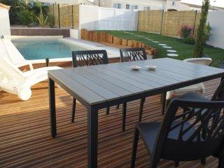 La Maison de Palès avec piscine chauffée- 8 pers. - Arces Sur Gironde vacation rentals