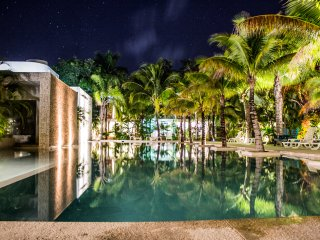 Casa Sak Tuunich|Luxury White Jungle Condo in Town - Tulum vacation rentals