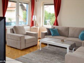 Spacious, peaceful, green apartment - Pristina vacation rentals