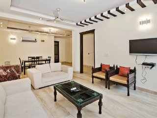 NEW 3 BEDROOMS MODERN SERVICED FLAT SOUTH DELHI - New Delhi vacation rentals