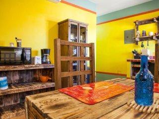 Yellow studio Juarez in downtown - La Paz vacation rentals