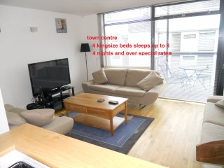 quiet duplex 4 kingsize beds centre of killarney - Killarney vacation rentals