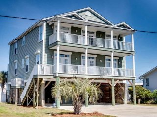 Luxury Ocean/Marsh Vw 7BR/6.5BA House Pool 2nd Row - Garden City Beach vacation rentals