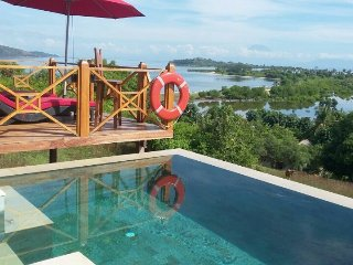 Villa Vista, 4 bed/3 bath with pool on Gili Gede - Pelangan vacation rentals