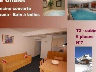 Romantic 1 bedroom Condo in Gourette - Gourette vacation rentals