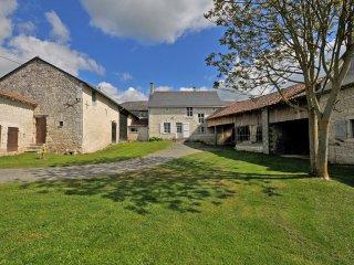 Gîte  Guimapé 3 étoiles.   Chinon, Visite châteaux,route des vins ,et campagne. - Chinon vacation rentals