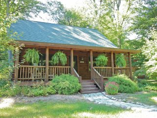 Coyote Cabin - Luxury Log Cabin in Saugatuck - Saugatuck vacation rentals