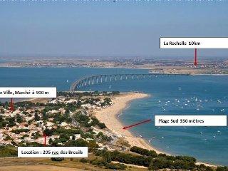 Maison Ile de Ré - 300 mètres de la plage - Rivedoux-Plage vacation rentals