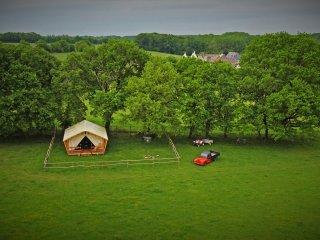 """Lodge """"Out of Africa""""  têtes à têtes à deux - La Roche-Posay vacation rentals"""