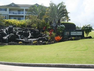 Best location in newer complex with panoramic ocean views and central A/C. - Kailua-Kona vacation rentals