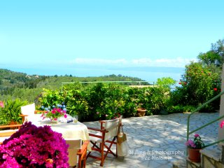 Traditional Stone Cottage & spectacular sea views - Loggos vacation rentals