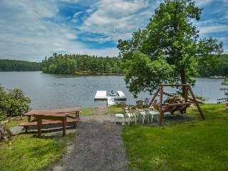 Lake front home with private dock & views! - Swanton vacation rentals