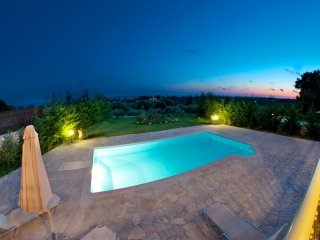 Villa with pool and wonderful sea view! - Kaligata vacation rentals