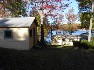 Sunapee area - lakeside cottage trio on Sand Pond - Marlow vacation rentals