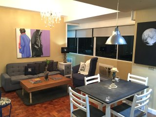 Central Location 1BR Greenhills w/ 180° City View - San Juan vacation rentals