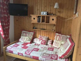 APPARTEMENT FACE AU MT BLANC 3 personnes - Passy vacation rentals