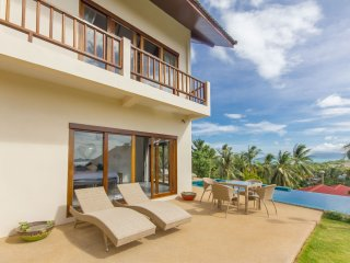 Delightful comfortable villa, beautiful sea view - Mae Nam vacation rentals
