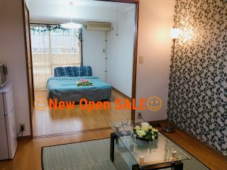 Direct airport Central Tokyo 1min 5guest Wifi - Taito vacation rentals