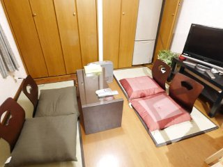 KIX directlly dotombori near12gest - Osaka vacation rentals