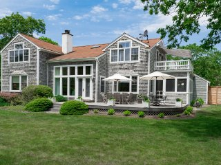 SINCL - Oyster Pond  House, All New Renovation being completed for 2016.  Set on 11 Private Acres, 10 minute drive to Edgartown, Oak Bluffs, Long Point Beach and or South Beach - Martha's Vineyard vacation rentals