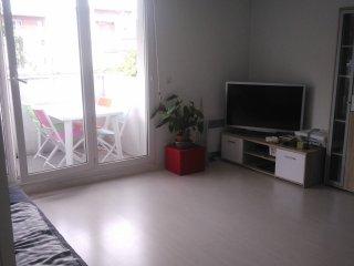 3 pièces, balcon, parking entre gare et centre ville - Bordeaux vacation rentals