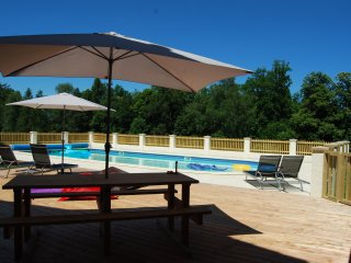 Farmhouse Accommodation with Heated Pool - Mialet vacation rentals