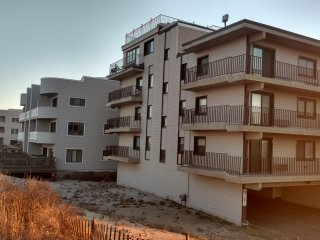 Newly renovated & Furnished Ocean Front Condo building on the Sand sleeps 6 - Seaside Park vacation rentals