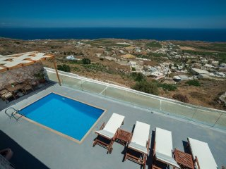 Dream Villa Santorini for 6, Private Pool, Stunning Aegean View - Vourvoulos vacation rentals