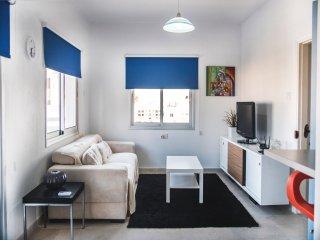 Central Top Floor Sea View 1bdr Flat - Larnaca District vacation rentals