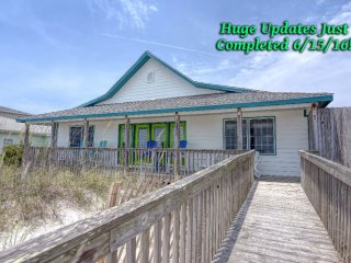 Huge Beach! Beautiful Home! One level! New Decor! Why not? - Topsail Beach vacation rentals