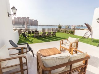Beach Front Villa 5 Bedroom + on Palm Jumeirah - Dubai vacation rentals
