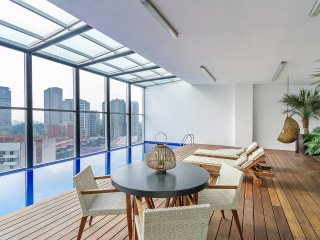 Commanding views and rooftop pool - Mexico City vacation rentals