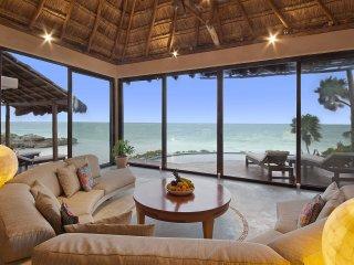 Ocean Front Luxury Beach House in Heart of Tulum - Tulum vacation rentals
