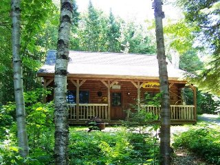 #105 A private `North Woods` log cabin - Greenville vacation rentals