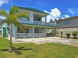 Elegant 4BR Aguadilla House w/Wifi, Private Balcony & Beautiful Location - Direct Access to Beaches & Attractions! - Aguadilla vacation rentals