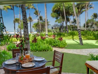 Villa 106 Beach Level 3 Bed (or 4 Bed with Adjoining Studio) Direct Ocean Views - Kahuku vacation rentals