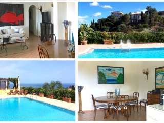 VILLA MATIS with private pool and view - Taormina vacation rentals